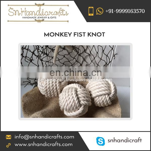 Attractive Design Strong Material Nautical Monkey Fist Rope Knots