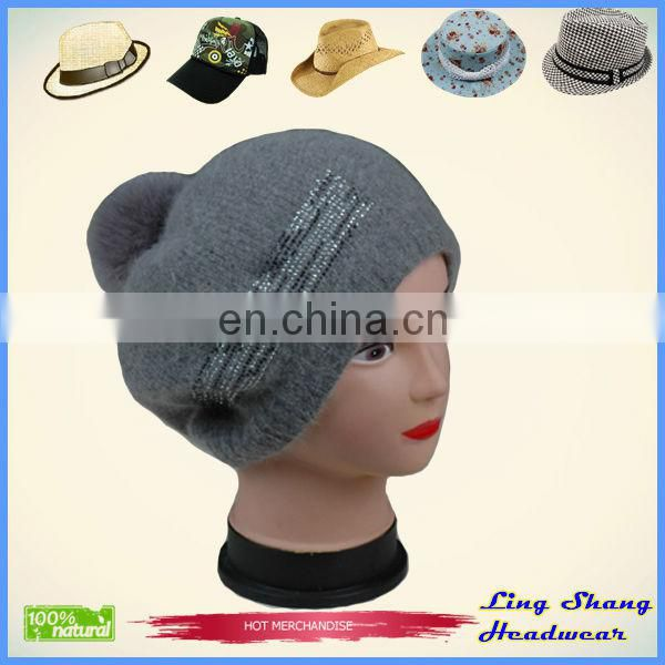 Hign Quality Factory Price winter knitting snapback hats