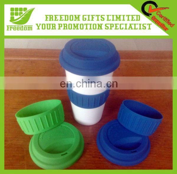 Colorful Silicone Cup Lid With FDA&LFGB
