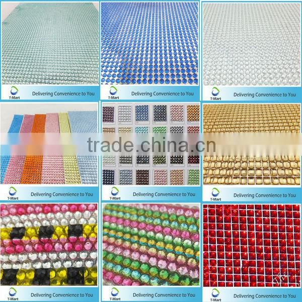 Adhesive Crystal Sticker for decoration