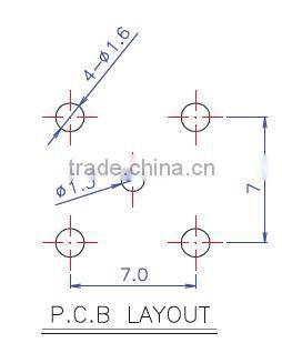 BNC female TO F male adaptor bnc connector , RF connector BNC jack BNC connector BNC female to pcb EB-080102
