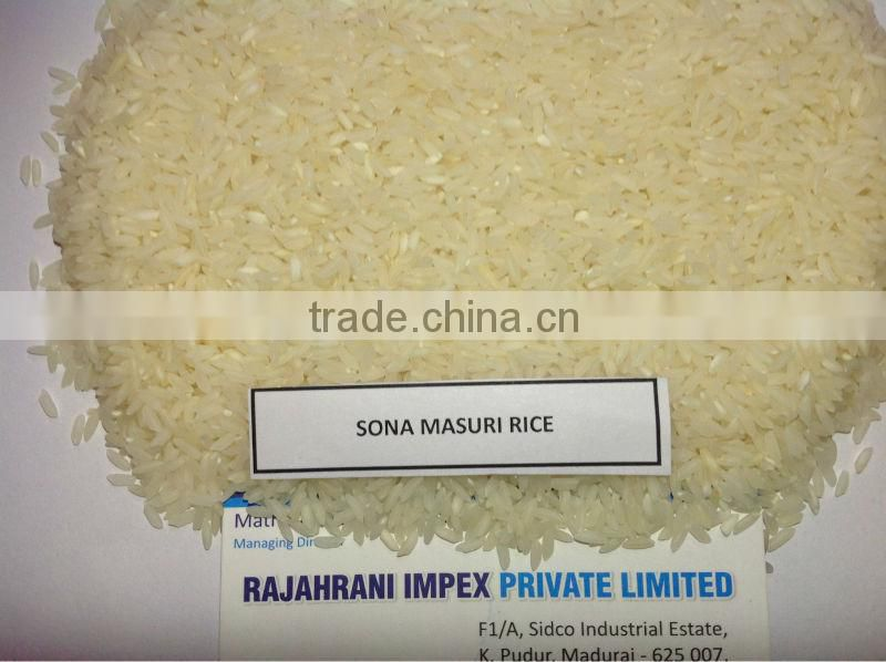FIRST QUALITY SONA MASURI RICE