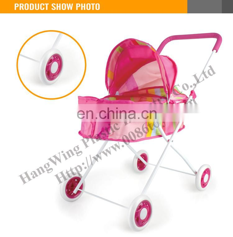 shantou toys factory lovely baby doll stroller toy for kids