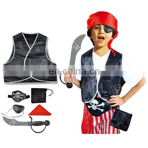 Fine workmanship boys cosplay pirates kids costumes wholesale