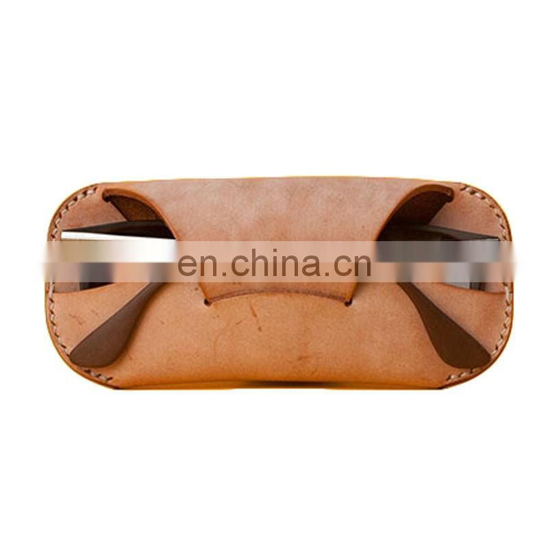 Eyeglass soft PU leather pouch sunglasses bag, sun glasses soft pouch