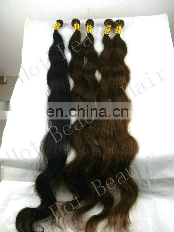 40 inch longest virgin non remy brazilian hair