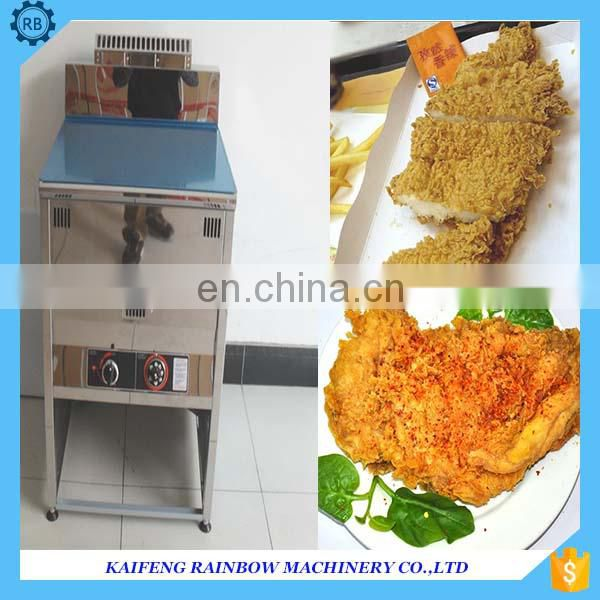 Commercial stainless steel fried chicken machine deep fryer