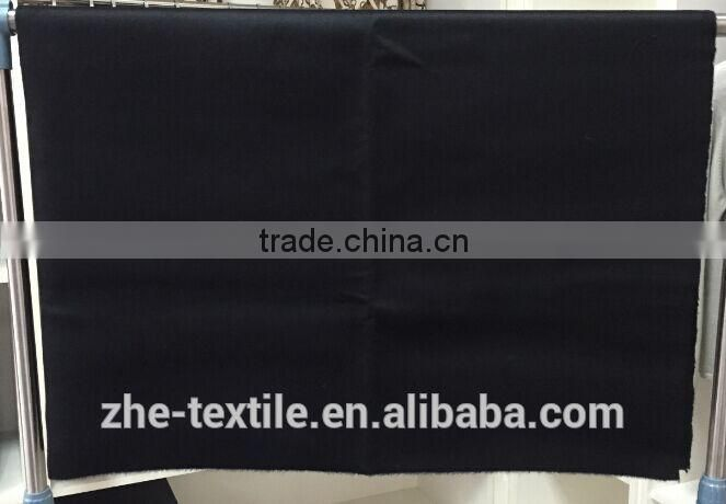 black colour 100% cashmere fabric