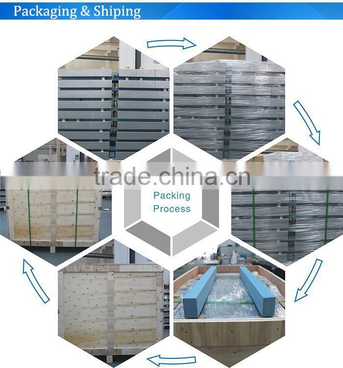 engineering machinery parts- oil cooler for concrete mixer
