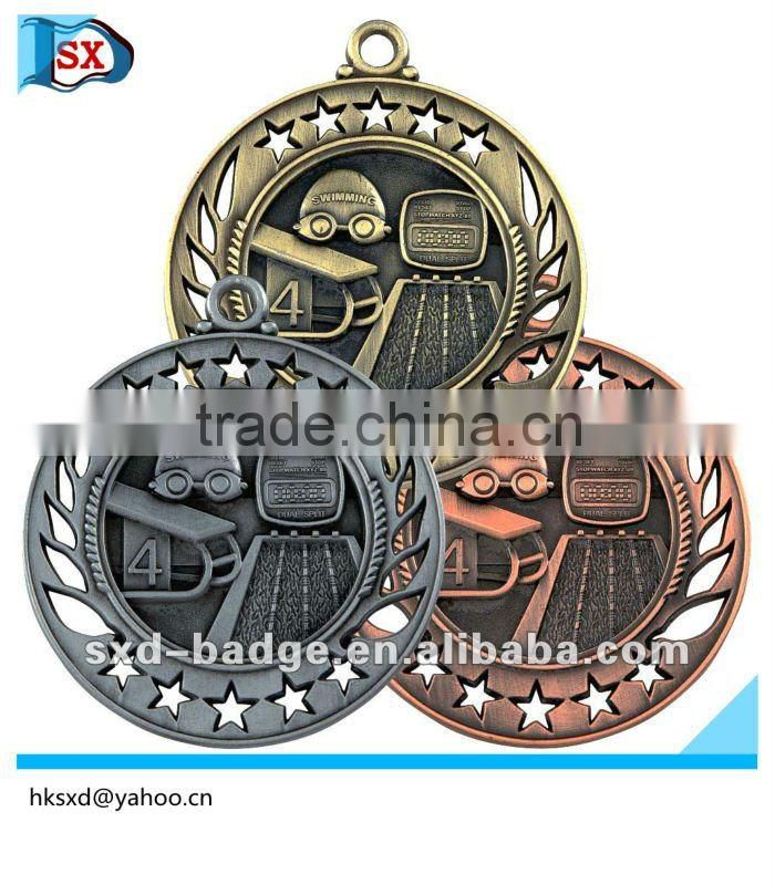 Gold color Metal medals