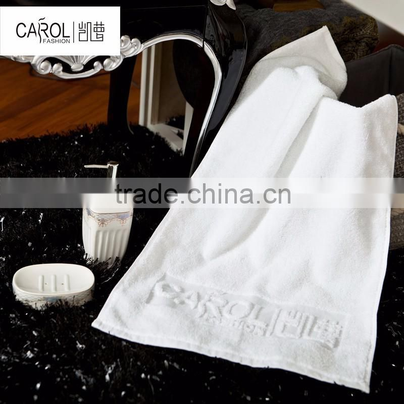 Nantong factory sale for 100% cotton comfortable microfiber hotel towel set