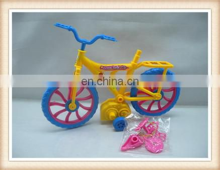 plastic wind up toy bike, mini wind up bicycle toy
