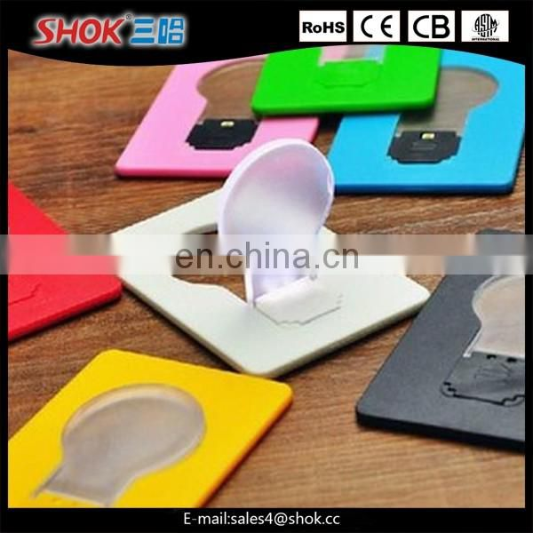 Printing Logo Mini Pocket Card Led Light Factory&plant