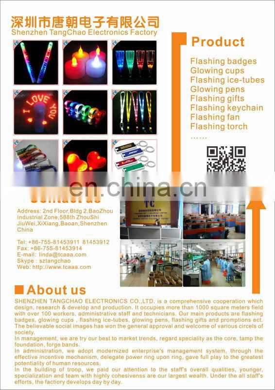 new product business gift led card light bulb shape led wedding card