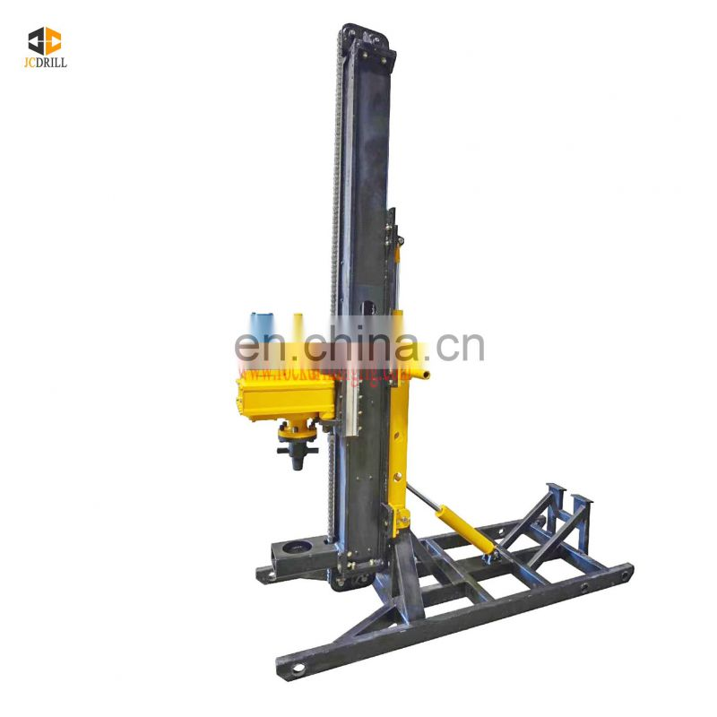 New design slope reinforcement anchoring multifunctional crawler engineering drilling rig with high power