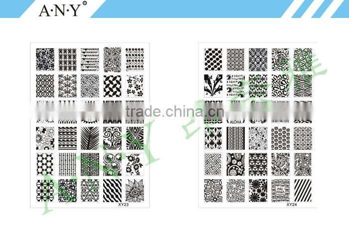 ANY Nail Art Beauty Design Stainless Steel Nail Stamper In Nail Polish Virous Patterns For Choose