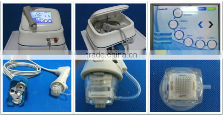 portable Microneedle Fractional RF facial wrinkle removal around eyes machine