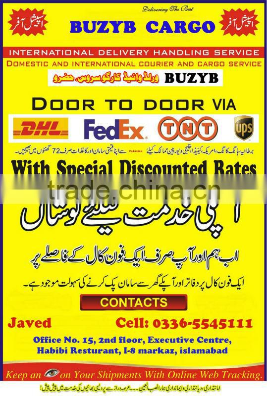 Pakistan Clothing Express Courier Service from Karachi to Worldwide