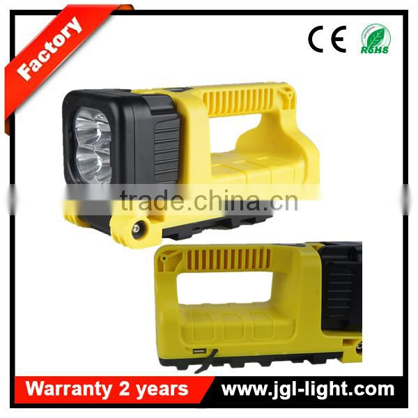 portable Guangzhou emergency response lighting rechargeable USB interface emergency light 9912