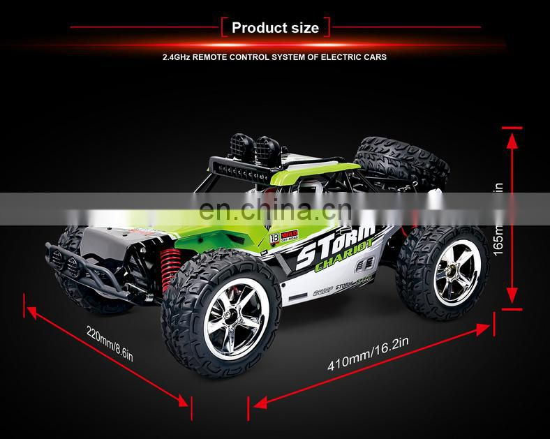 2017 New Hot Selling High Speed 1:12 Radio Control Car 2.4GHz Four-Wheel Drive High-Speed Model Car