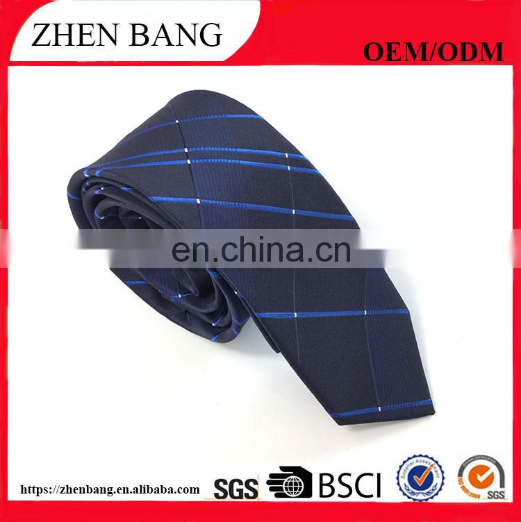 2017 Professional Manufacture Fashion polyester woven men tie
