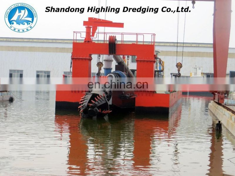 3500m3/h 18 inch cutter suction dredger in stock for sale Image