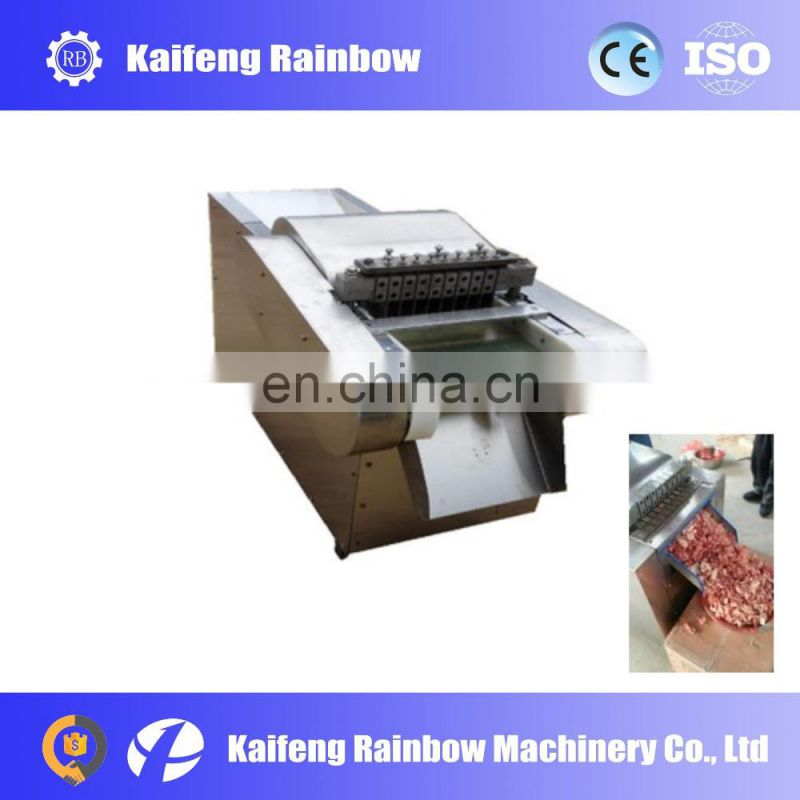New Condition Hot Popular frozen fish cutting machine/small meat cutting machine/frozen chicken meat processing machine