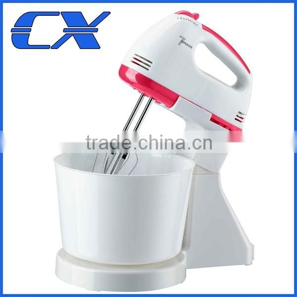 High Quality Stand Mixer With Plastic Bowl Hand Stand Food Mixer With a Bowl