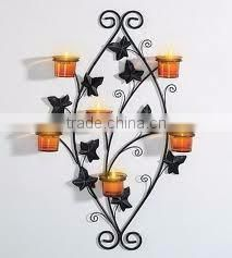 moroccan wall hanging tealight holder