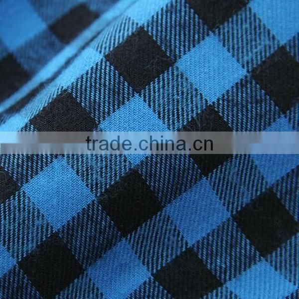 New arrival High grade dyed 100% cotton flannel fabric for T-shirt