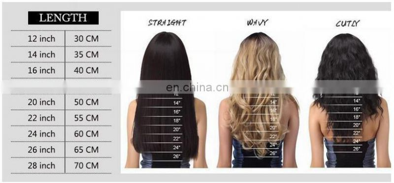 7A body wave human hair extension no shedding