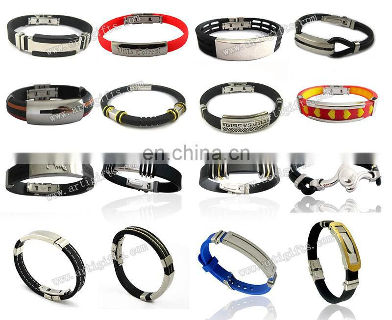 Bracelet Manufacturer Fashion silicone glow in the dark bracelets