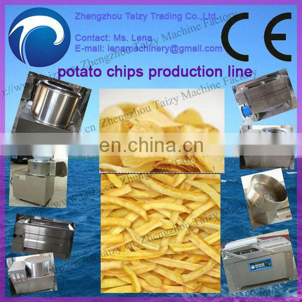 Small scale compound pringles potato chips production line