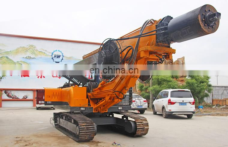 Trailer mounted crawler water well drilling rig machine price