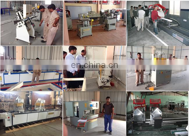 PVC window door double head welder / UPVC windows fabricating machine