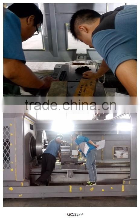 QK1327 automatic oil pipeline threading machine manufacturers/cnc pipe threading machine