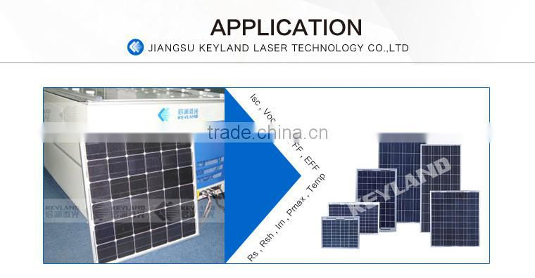 New desigh Solar module test IV curve measurement for 1-20MW solar panel production line