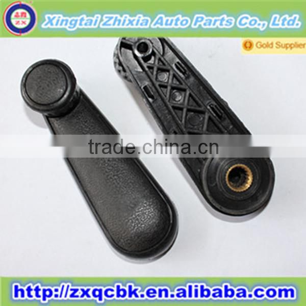 Black outside door car handle