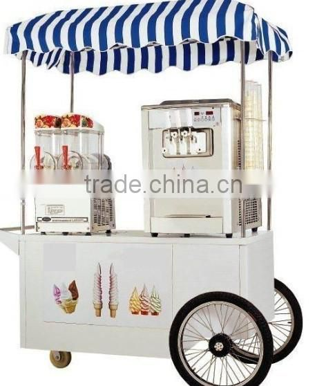 Well Structured Street Custmized Chestnut Snack Food Cart Kiosk Machinery