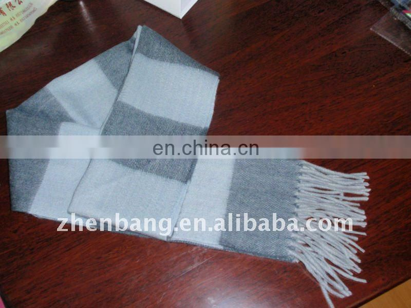 Customized Men's Woven Winter Scarf Maker