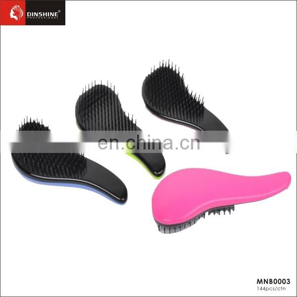 wholesale best price very beauty colourful popular fancy hair brush