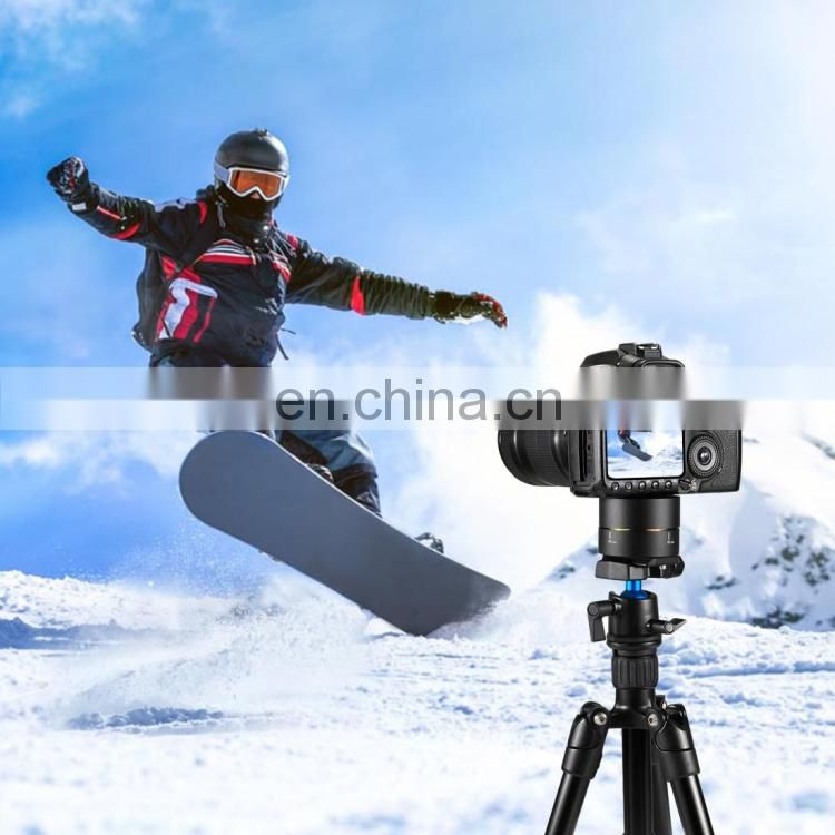 PULUZ 360 Degrees Panning Rotation 120 Minutes Time Lapse Stabilizer Tripod Head Adapter