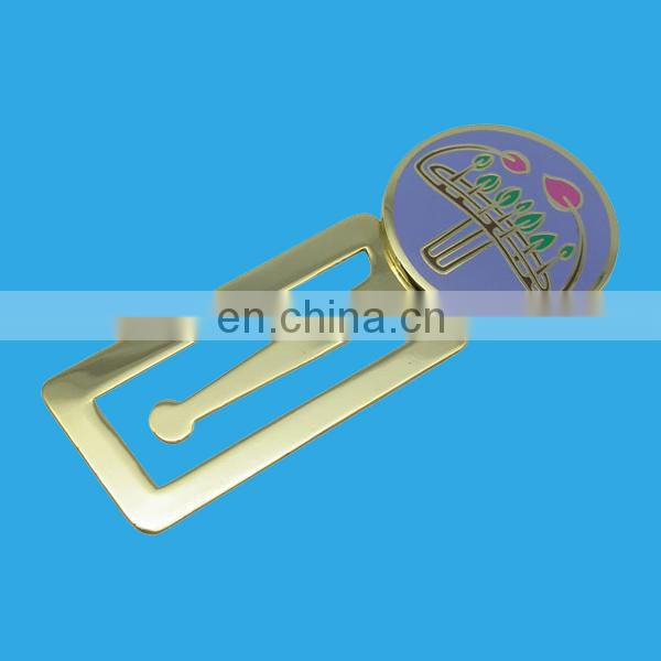 customized design aluminum bookmark