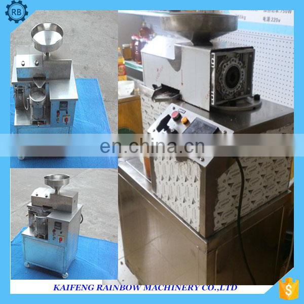 Professional castor oil press machine/palm oil press/cold press oil extractor