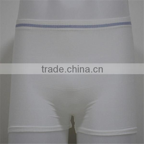 hot sale Men's nylon Boxers incontinence pads for adults Mens underwear
