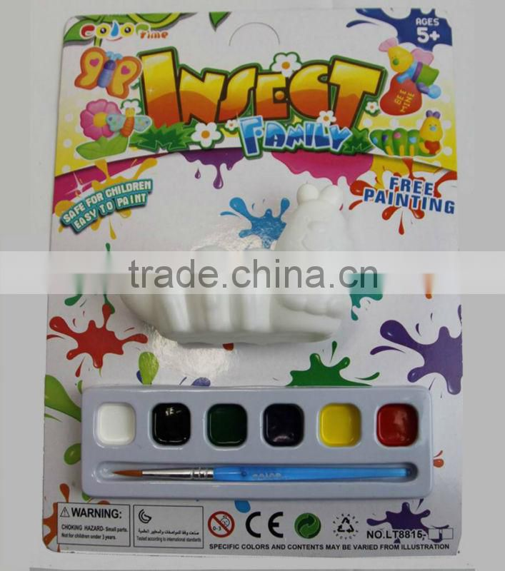 factory DIY free painting toys with paints