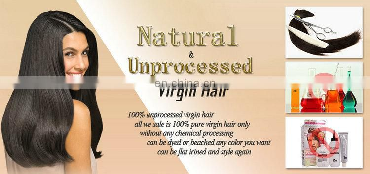 The best quality hot beauty hair color virgin 8A grade hair extension