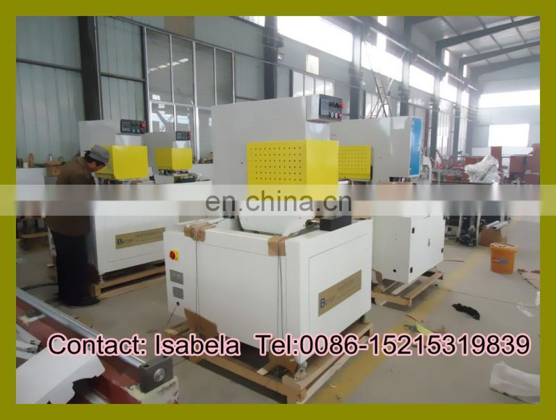 PVC window door machine Single head seamless PVC window welding machine Window machine (0086 15215319839)