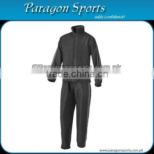 Sports Warm Up Suit Red and Black Color