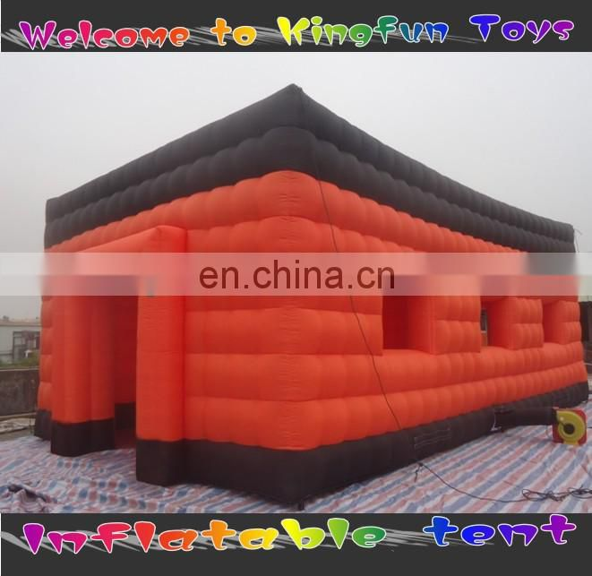 Lighting exhibition inflatable projection wall